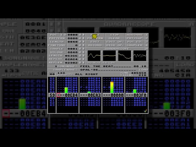 Feel The Beat / Opal [ Amiga Protracker Eurodance 90s Mod ]