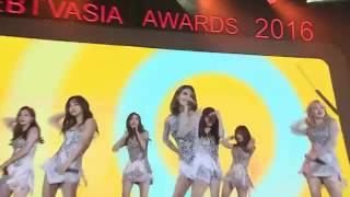 161126 Girls' Generation (SNSD)- Party in Web TV Asia Awards