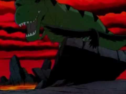 T Rex Beast Boy Vs Spino Beast Boy Youtube