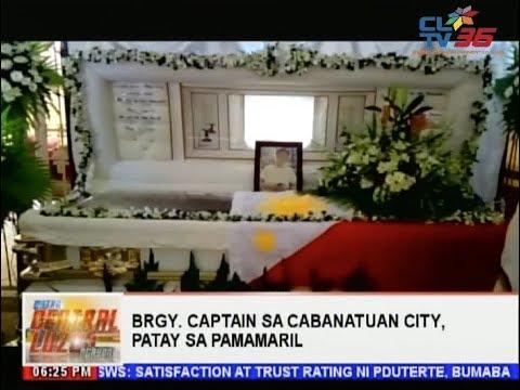 Brgy. Captain sa Cabanatuan City, patay sa pamamaril   CLTV36