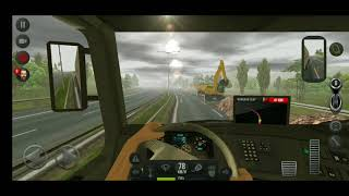 Euro Truck 2018   Live accident with BMW   2018    Euro Truck  mod 3 ETS Driving Game