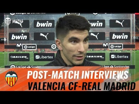 VALENCIA CF-REAL MADRID | POST-MATCH INTERVIEWS