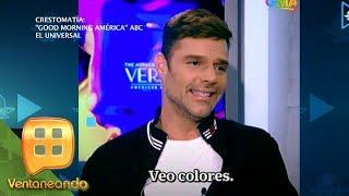Ricky Martin desea que sus hijos sean gay | Ventaneando