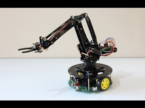 A Robotic Arm Project Youtube