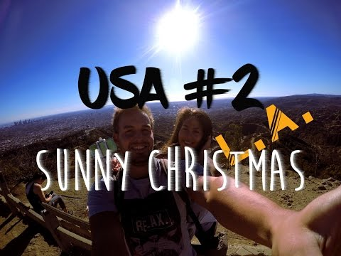 USA #2: Los Angeles #1 - Sunny Christmas [GoPro: 1080p Full-HD]