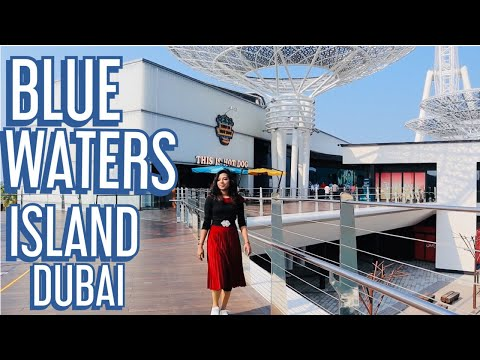 DUBAI BLUE WATERS ISLAND -WORLD'S LARGEST OBSERVATION WHEEL| VLOG 4