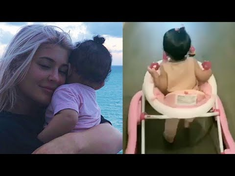 Kylie Jenner MOMMY SHAMED For Picture Of Baby Stormi In A Walker!