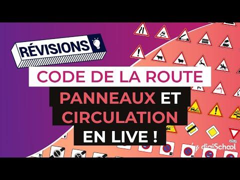 Code de la Route : Panneaux et circulation en LIVE ! (30 janv. 2017)