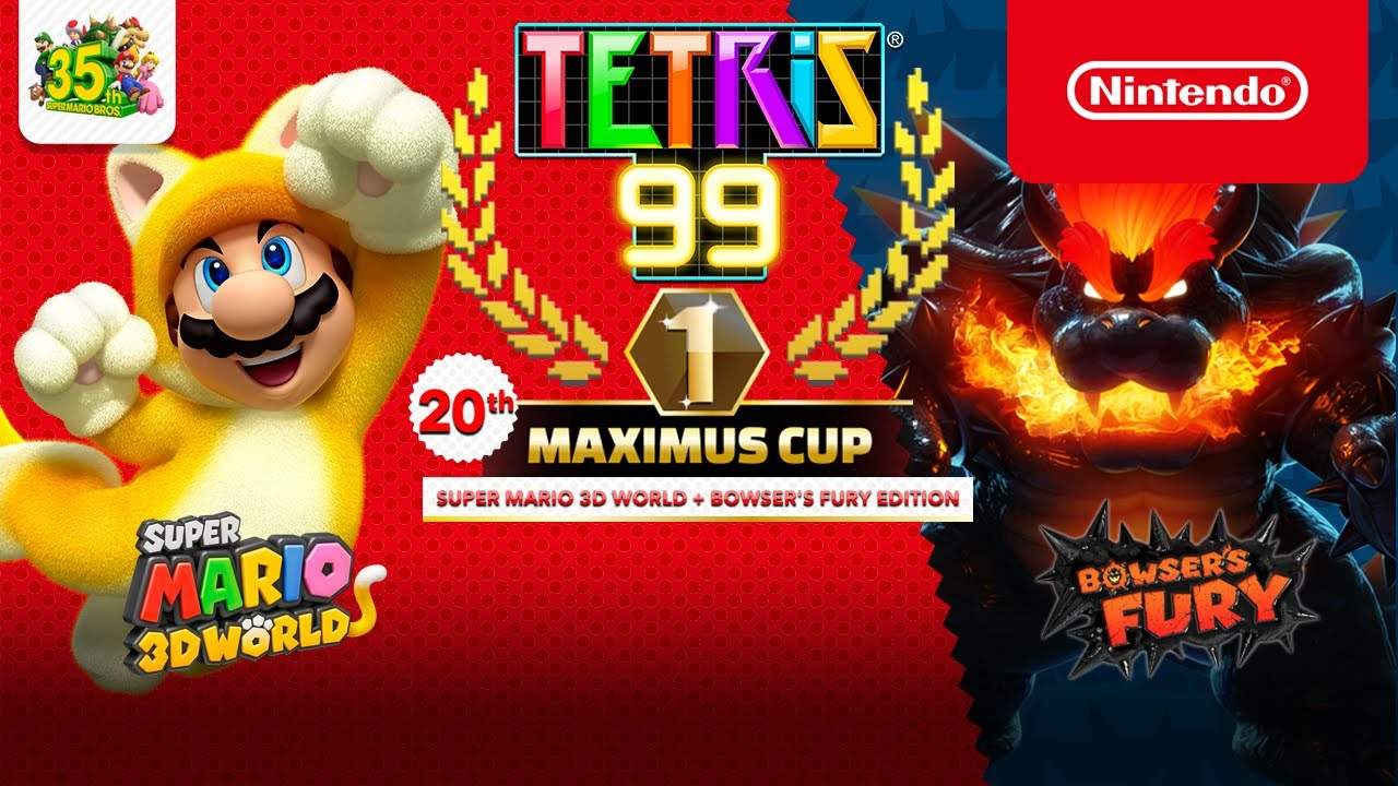 Tetris® 99 - 20th MAXIMUS CUP Gameplay Trailer - Nintendo Switch