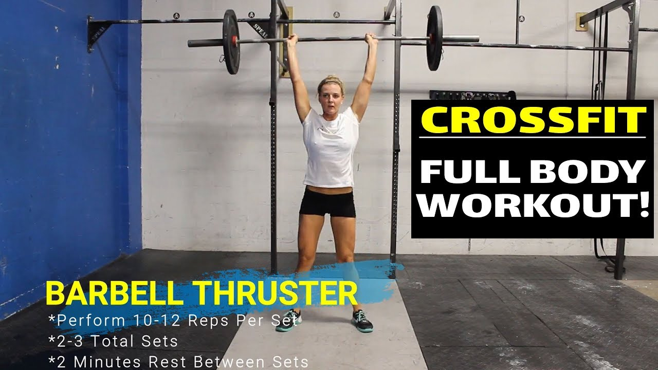 CrossFit Full Body Workout Routine