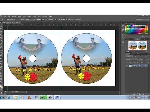 Cara Membuat   Setting Ukuran Label Cd Di Photoshop