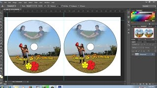 cara membuat | setting ukuran label cd di photoshop
