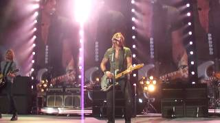 Keith Urban concert opening and Long Hot Summer