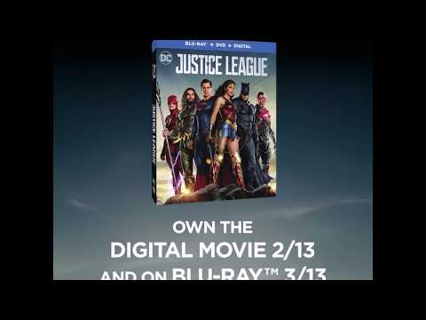 Justice League Blu-Ray - Official® Trailer [HD]