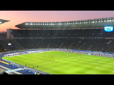 Hertha BSC - Borussia Dortmund 1-2 Highlights Fan View HBSC - BVB 09 Stadion Vlog 1. Bundesliga