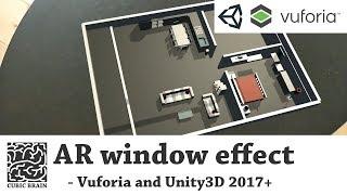 Vuforia & Unity3D ile AR Pencere efekti oluşturmak için nasıl