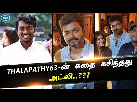 Vijay In Thalapathy63 Movie Story Line | Atlee Master Plan | Thalapathy Fans Expectation