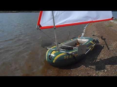 Парус на резиновую лодку купить