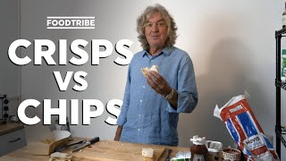 Has James May made the best sandwich yet? | Crisps VS Chips