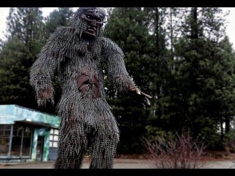 Multiple Bigfoot Trash Camper Of Logger In Happy Camp California