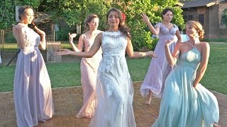 Bridal Party Choreography Uptown Funk/Evolution of Hip Hop/La Gozadera