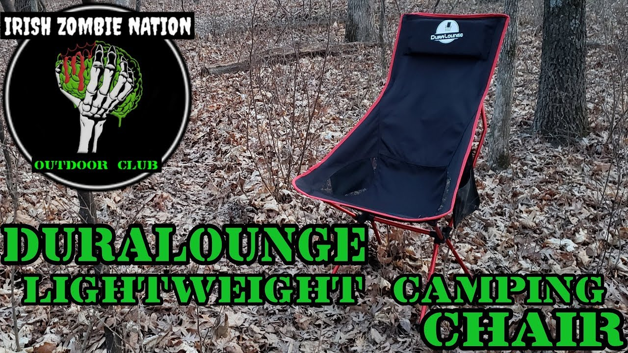 Most Comfortable Camping Chair Most Comfortable Lightweight Camping Chair Ever The Duralounge Foldable Chair