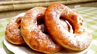 Как приготовить ПОНЧИКИ. Donuts