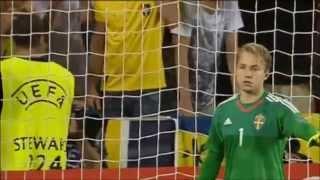 U21 EM Final 2015 Sverige-Portugal hela straffläggningen