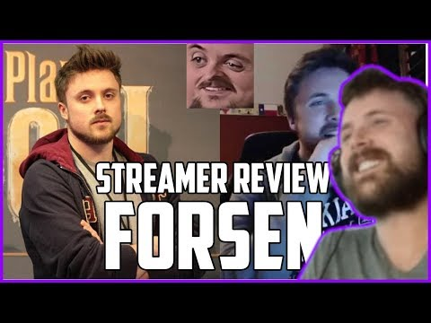 Forsen Reacts To Streamer Review: FORSEN | Nymn's Streamer Of The Week Show Ep. 2