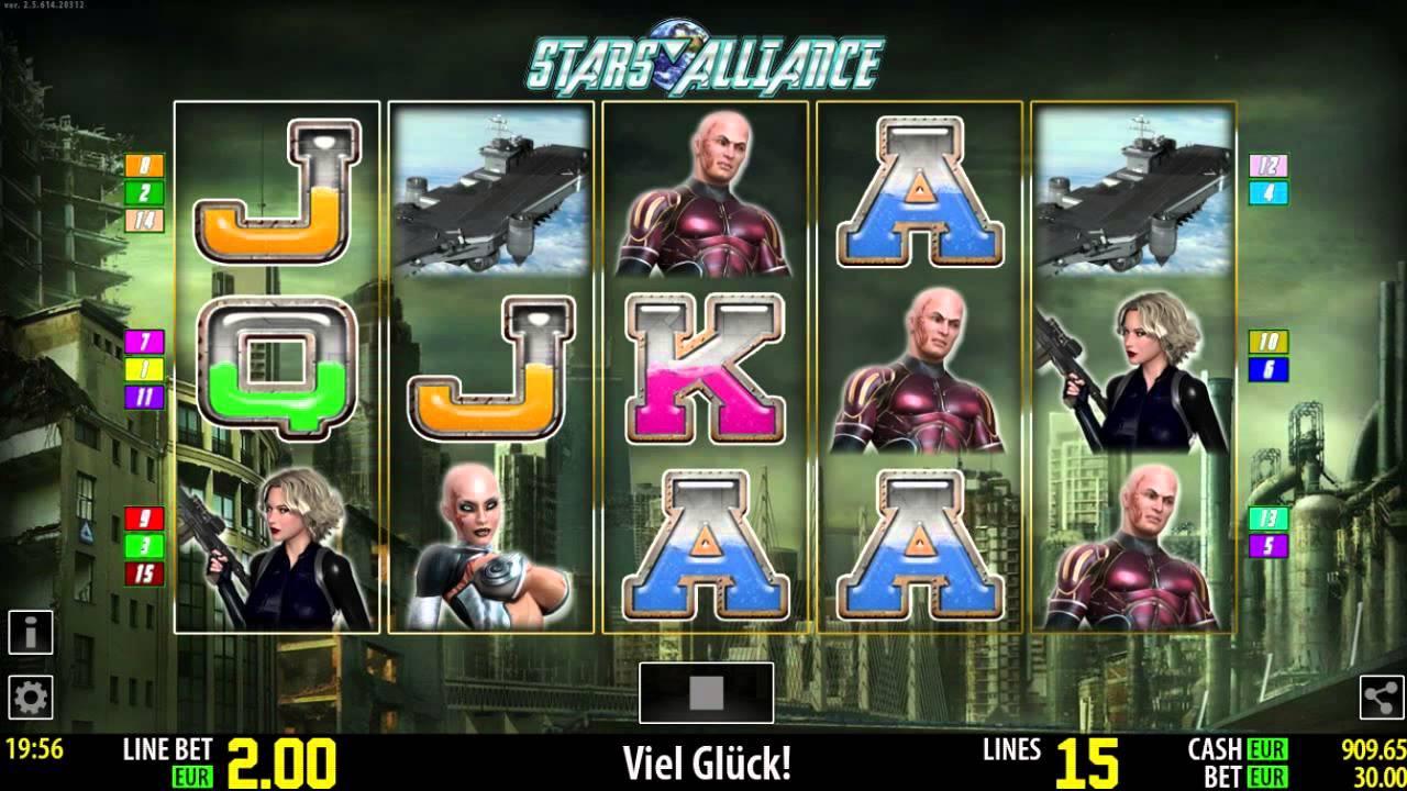 Stars Alliance Slot Machine
