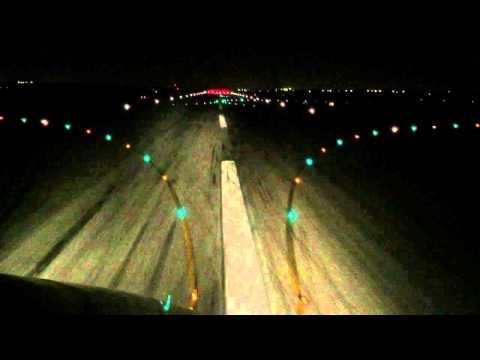 ILS Approach Rwy 21 Perth, Australia