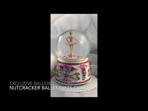 Ballerina Snow Globe