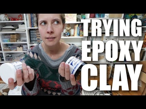 Review: EPOXY clay vs. POLYMER Clay (Apoxie Clay from Aves)