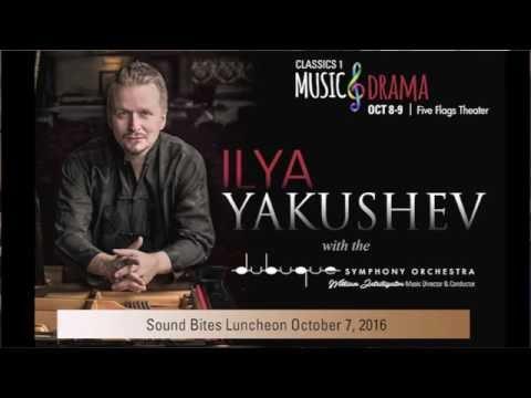 Dubuque Symphony Soundbites Oct 2016