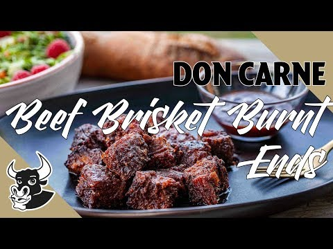 Saftige US Beef Brisket Burnt Ends 🤤| DON CARNE