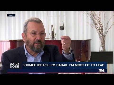 Former Israeli PM Ehud Barak eyes political comeback. Can he be Prime Minister again?