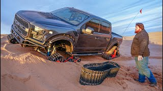 Can the Tracked Raptor Survive the Sahara Desert? (It Failed)
