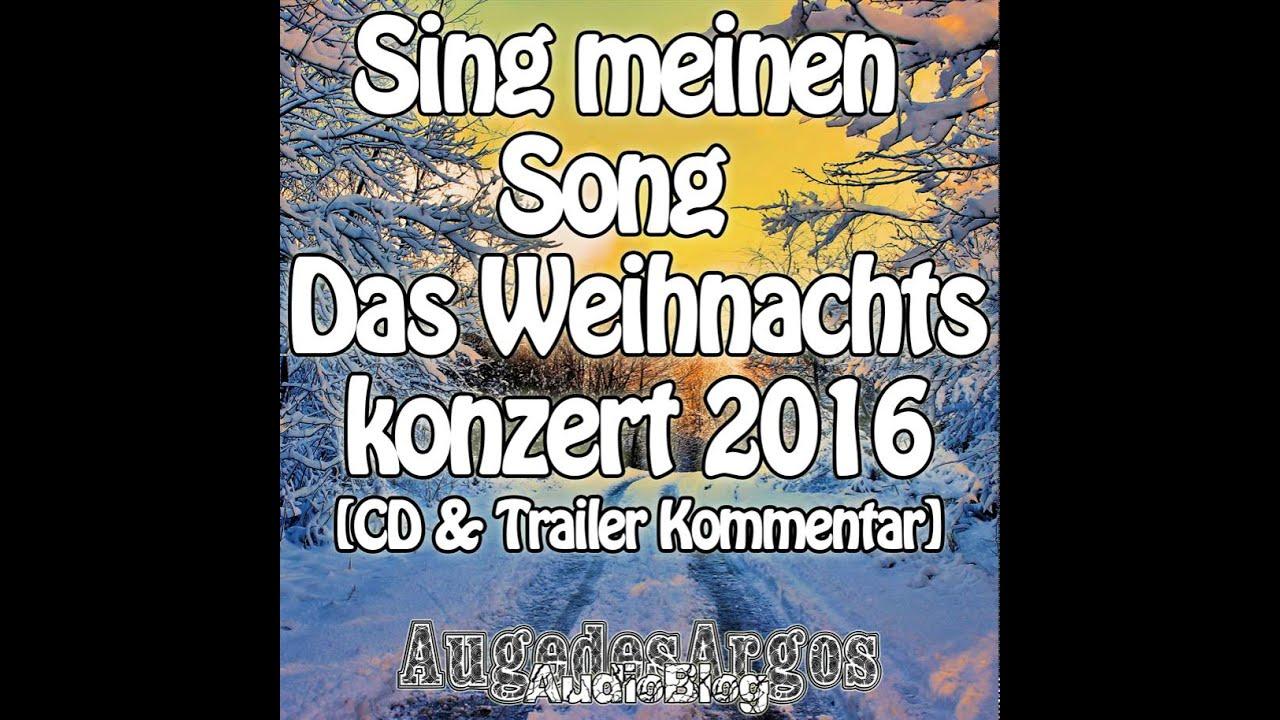 Sing Meinen Song Das Weihnachtskonzert 2015 Cd Trailer