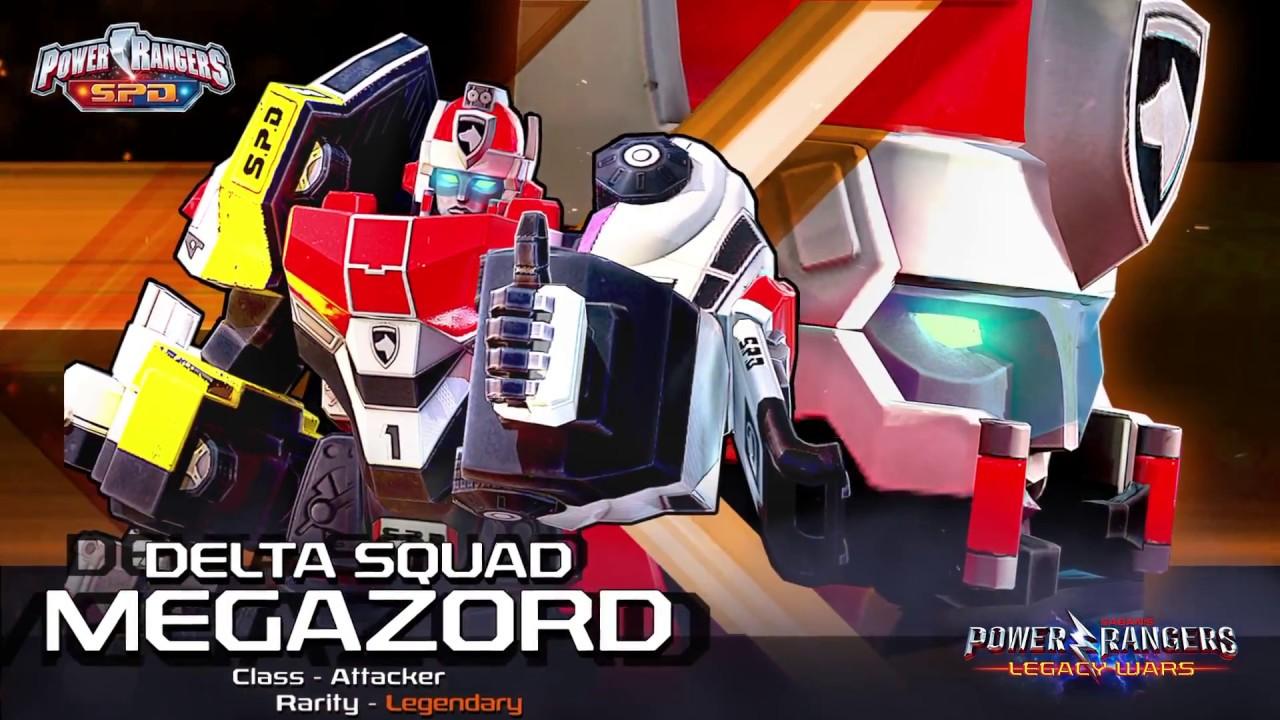 Power Rangers: Legacy Wars (SPD) Delta Squad Megazord ...