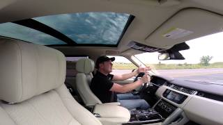 Real Videos: 2014 Range Rover Long Wheel Base V8 Supercharged Review