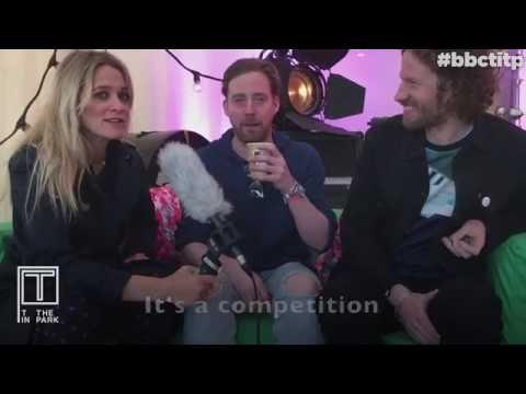 Kaiser Chiefs - interview backstage at T in the Park 2016