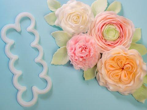 4 Easiest Rose Cutter Ever Blumen (Rose, Ranunkel, Nelke, engl. Rose) - enthält Werbung
