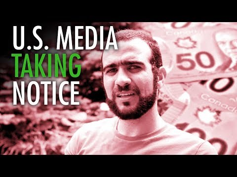 U.S. media picks up on Trudeau's dirty deal with Khadr
