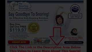 snore appliance reviews | Say Goodbye To Snoring
