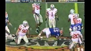 2007 BCS National Championship #2 Florida vs. #1 Ohio St.