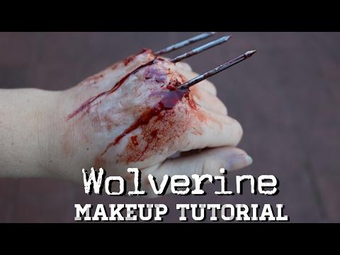 Mini Wolverine Makeup • SFX Tutorial
