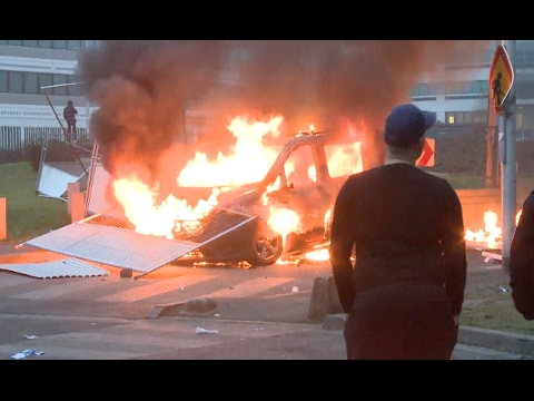 Riots Spread Across Paris  Suburbs After Police Rape Accusation