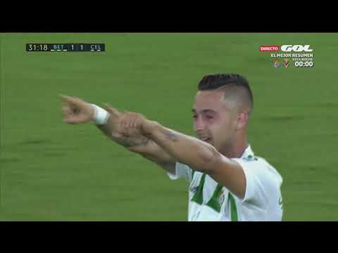 Real Betis vs Celta Vigo Highlights - 25/08/17