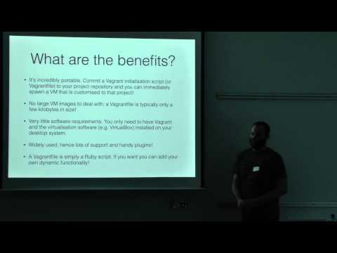 Get off MAMP / XAMPP (Virtualising with Vagrant) - VIDEO (David Frame) - PHPBelfast Meetup #7