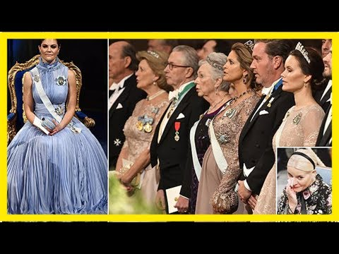 Swedish royals assemble for nobel prize ceremony